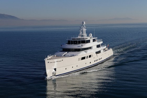 Charter Yacht GRACE E has completed her sea trials