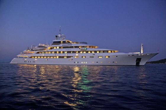 M/Y O'MEGA Has Charter Availability for the Cannes Film Festival