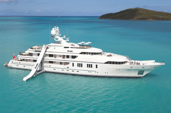 Luxury Charter Yacht RoMa cruising in the Western Med
