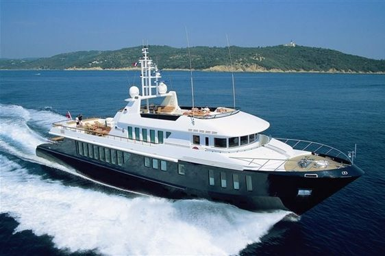 Superyacht CAPRICORN Available in the Bahamas