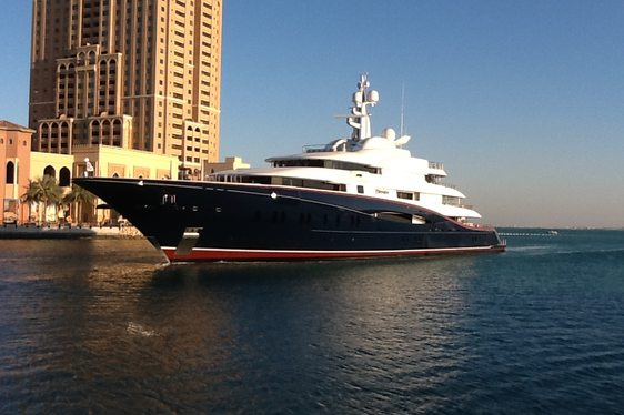 Superyacht NIRVANA's Tour of the Gulf