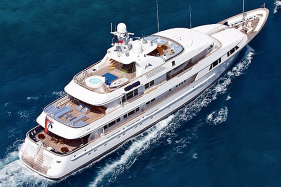 Feadship's 56.5m Motor Yacht Hampshire For Charter