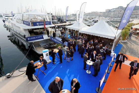Yacht charter at MIPIM in Cannes