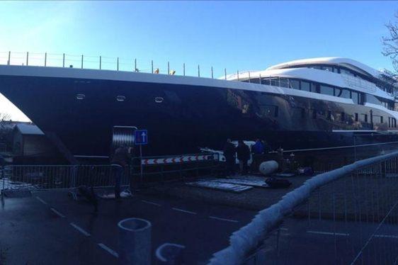 Feadship 808 yacht Bow