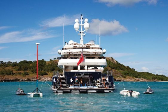 Charter Yacht UNBRIDLED on Display at FLIBS 2014