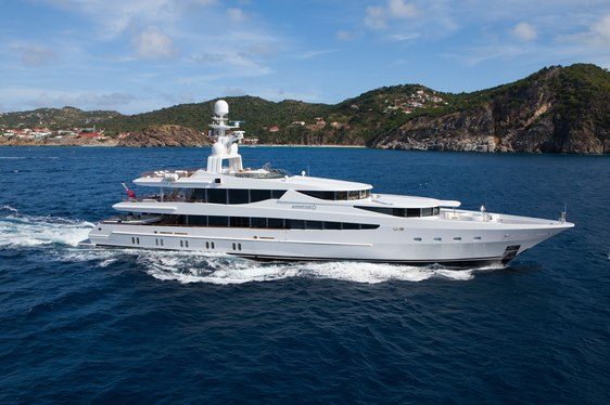 Oceanco's Motor Yacht Sunrise For Charter