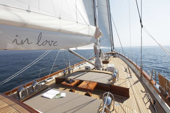 Sailing Yacht 'In Love' Now Available For Charter