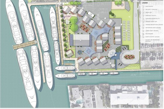 Plan for new superyacht village at Fort Lauderdale Boat Show 2019