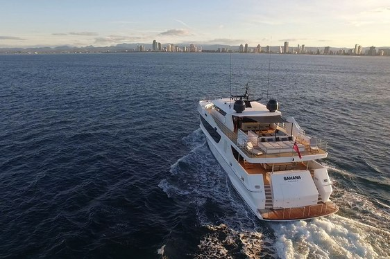 Refitted Superyacht SAHANA Available for Australia Charters