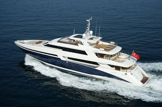Superyacht TATIANA Charter Deal in the Mediterranean