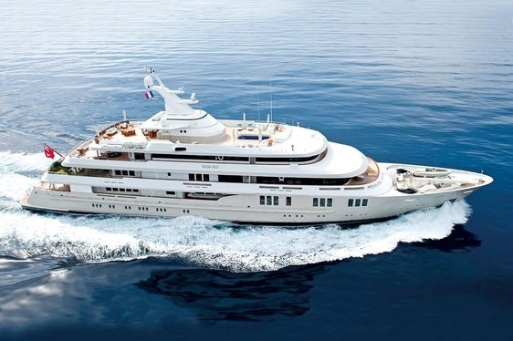 Charter yacht REBORN cruising in the Caribbean
