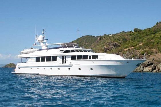 Intermarine Motor Yacht SAVANNAH Available in the Virgin Islands