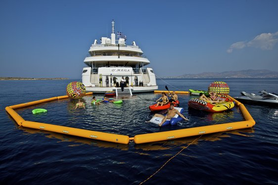 Superyacht O'MEGA Now Available For Peak Season Charter Vacation