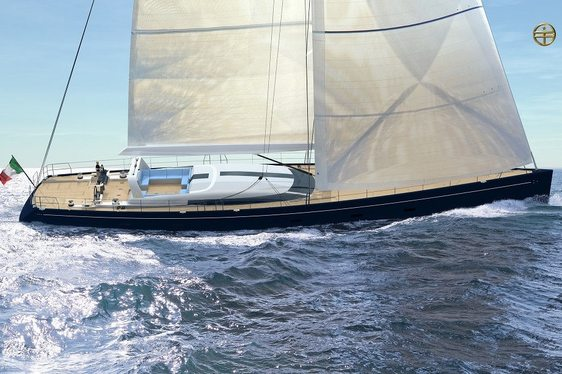 Rendering of sailing yacht C.1230