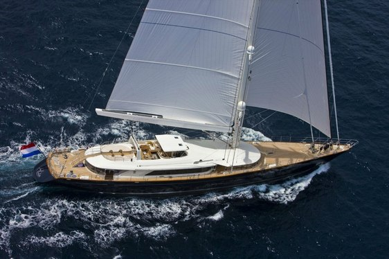 Luxury Sailing Yacht SALUTE Renamed BAYESIAN