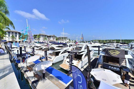 Yachts at PIMEX 2014