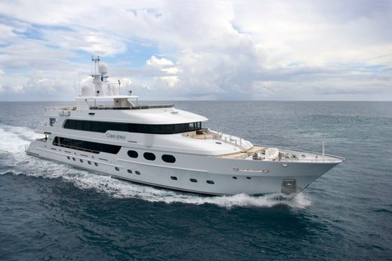 Bahamas Charter Available on Superyacht 'Casino Royale'