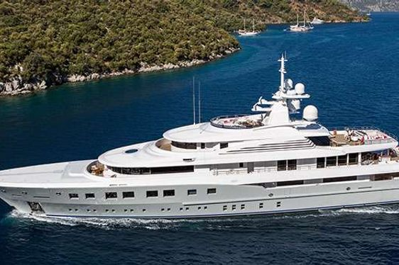 Motor Yacht AXIOMA cruising in the Caribbean