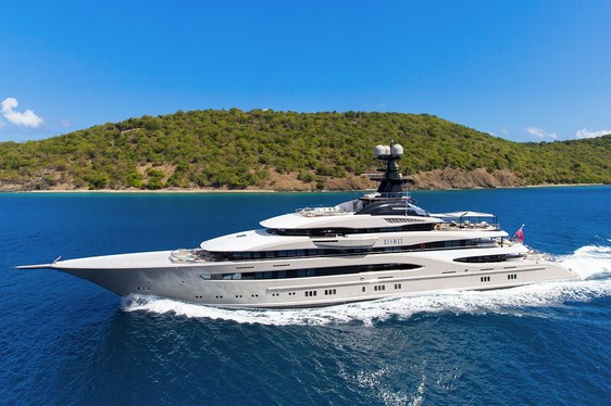 Charter yacht KISMET largest yacht signed up to Monaco Yacht Show 2018 to date