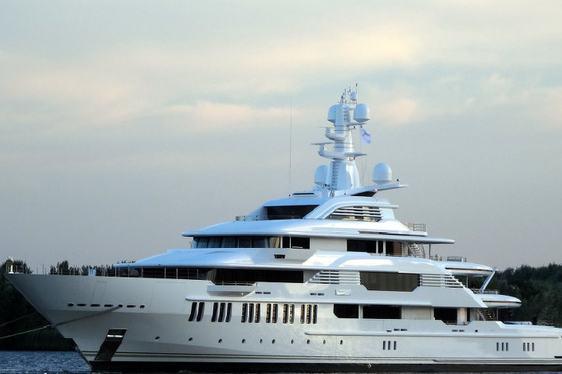 Video – Oceanco Superyacht 'Y710' on Sea Trials