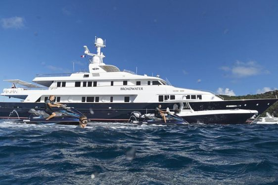 Feadship Charter Yacht BROADWATER Renamed Superyacht 'BLU 470'