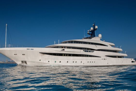 74m Superyacht Cloud 9 Delivered From CRN