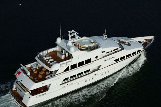Superyacht 'FOUR WISHES' Available in the Bahamas
