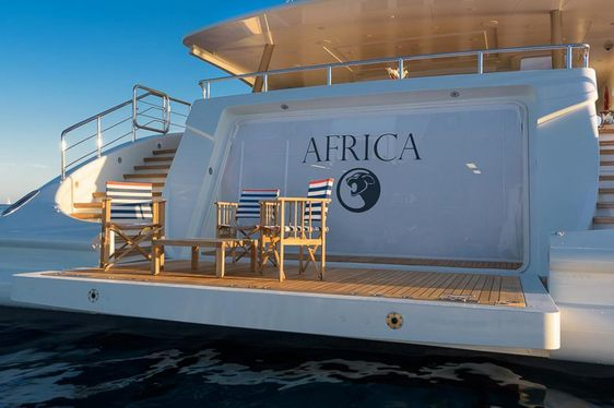 Freshly refit superyacht AFRICA joins charter fleet and offers vacations around the world