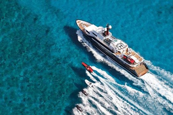Superyacht HIGHLANDER has Flexible Availability in the Mediterranean
