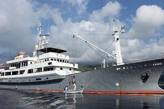 Unique Expedition Yacht Salila Signed For Charter