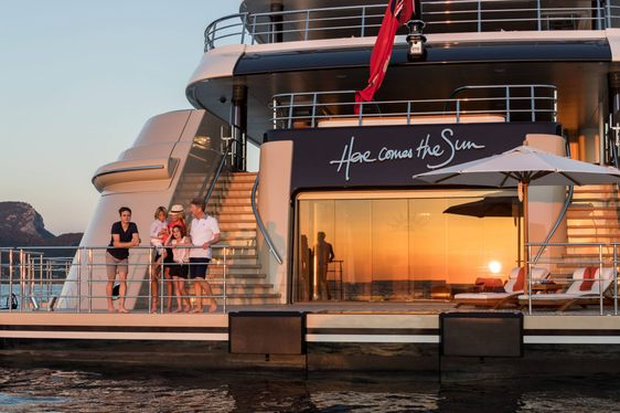Amels superyacht 'Here Comes the Sun' reveals charter availability in Mexico this winter
