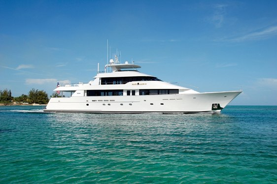 Superyacht SERENGETI Available in Alaska