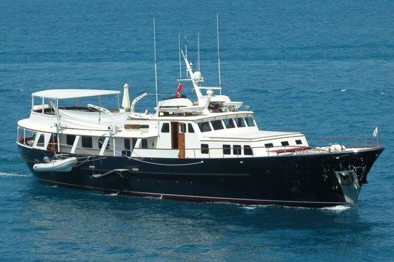 Classic Feadship Charter Yacht 'Santa Maria' Undergoing Refit
