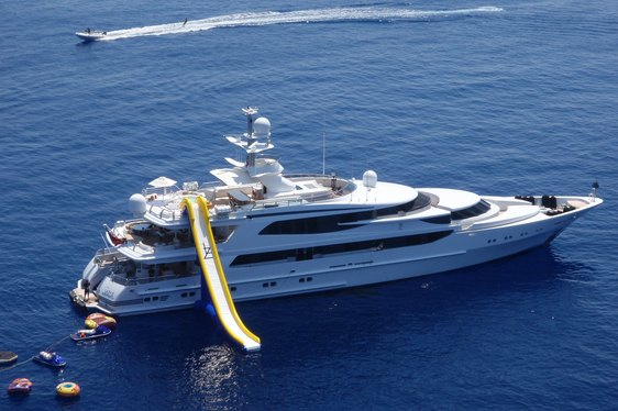 Charter Superyacht 'LAZY Z' in St. Barts this December
