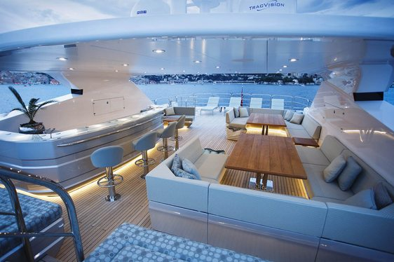 Popular charter yacht BLUSH renamed as ARADOS