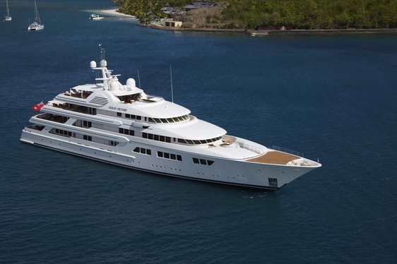 Superyacht OCEAN VICTORY Joins Charter Fleet