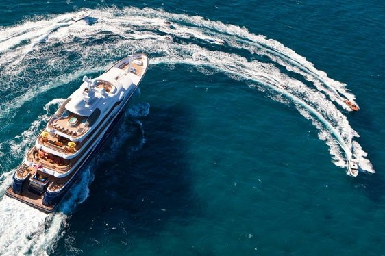Superyacht CAKEWALK Confirmed for Monaco Yacht Show 2014