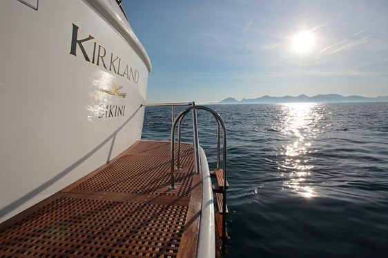 Explorer Yacht KIRKLAND New to Charter Fleet