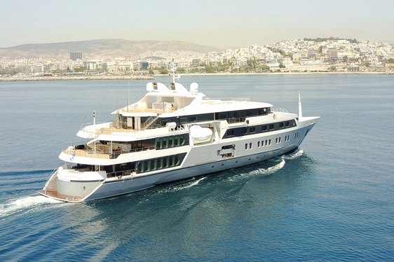 Superyacht SERENITY Now Available for Peak Season Charter In Greece