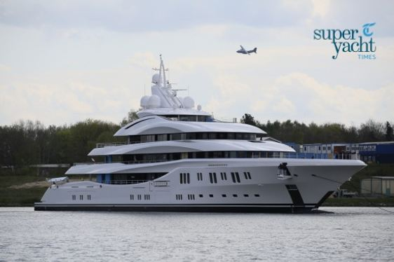 Lürssen Superyacht ORCHID Launched