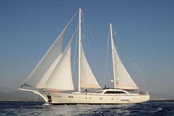 S/Y ALESSANDRO Offering Special Rates on Remaining Charter Dates