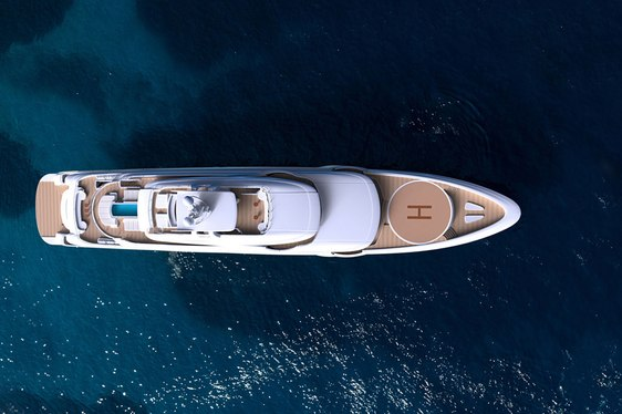 The pride of Greece: brand new 85m superyacht O'PTASIA almost ready for summer charter season