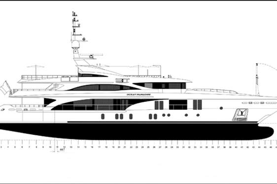 55 Metre Ocean Paradise Joins Charter Fleet