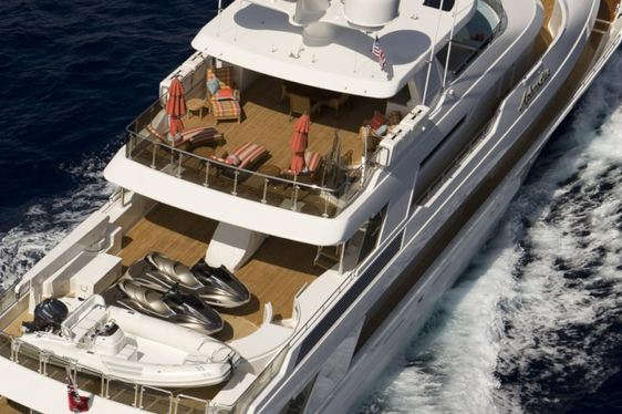 Superyacht APHRODITE Enters the Global Charter Fleet in the Caribbean