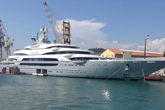 140m Superyacht 'Ocean Victory' Delivered