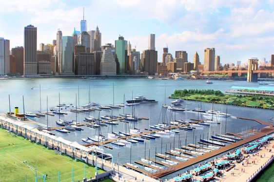 New Superyacht Marina Planned for New York Harbour