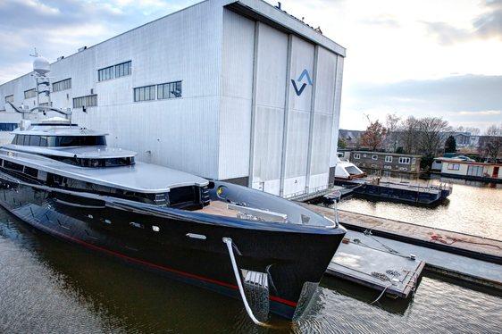 Feadship Motor Yacht Kiss