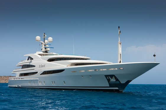 Charter Yacht 'St David' Available For The Monaco Grand Prix 2016