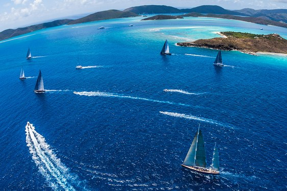 Loro Piana Superyacht Regatta 2017