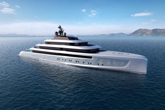 Oceanco Reveals A New 90m Superyacht Concept